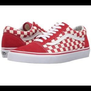 red checkered vans ✰